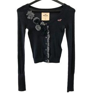 Hollister XS Embellished Boho Cardigan Sweater